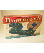 Vintage Double Nine Dragon Dominoes by Halsam Set No. 920 55 Pieces - $29.95