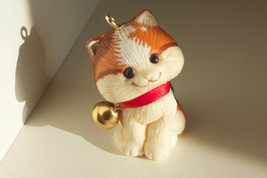 "Hallmark Keepsake Ornament Christmas Kitten Cat 1982 Bell 1.5"" - $12.95"