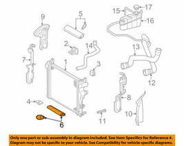 Radiator Boot Lower Seal For Various Mercedes Models 2205050386 Oem Nos - $17.82