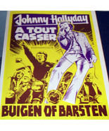 JOHNNY HALLYDAY! A Tout Casser 1968 Euro Film Poster - $9.99