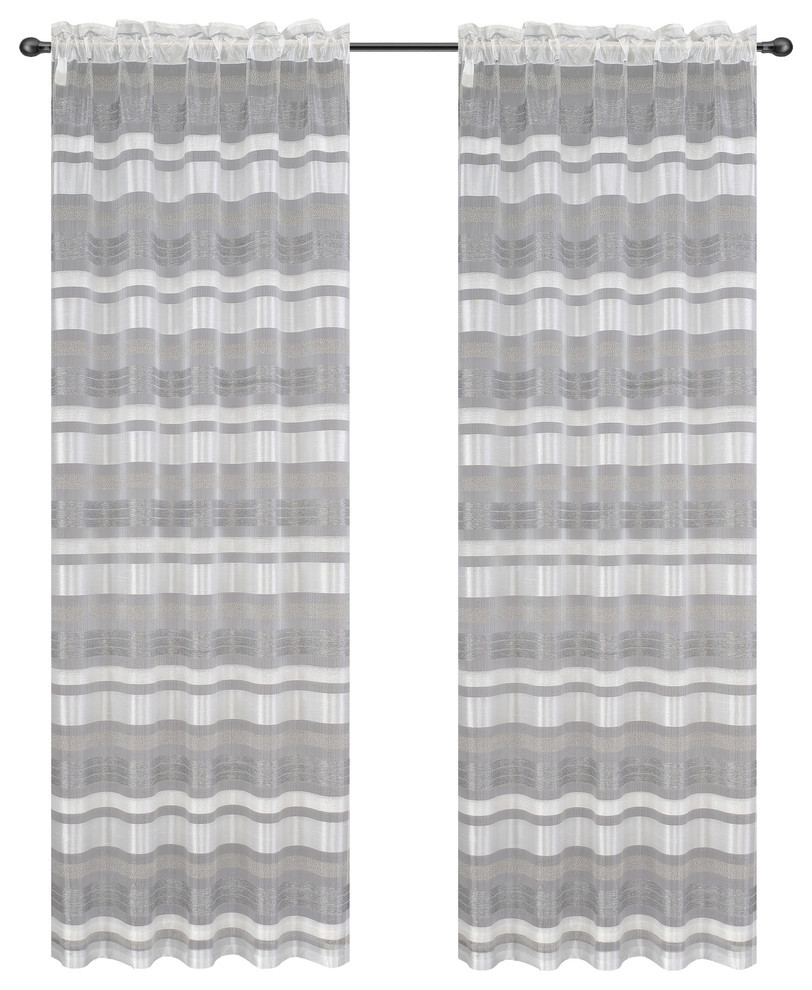 Becca Drapery Curtain Panels image 7