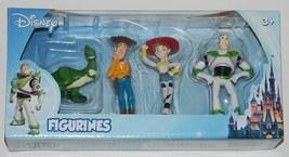 Walt Disney Toy Story Movies Mini Figurines Set of Four, NEW UNUSED SEALED - $14.46