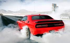 2015 Dodge Challenger SRT2 burnout POSTER | 24 x 36 INCH | muscle | spor... - $18.99