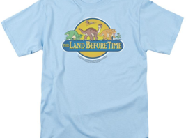 The Land Before Time Retro 80's Movie The Great Valley graphic tee UNI112 image 2