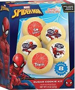Crafty Cooking Kits Marvel Spiderman Sugar Cookie Kit 8 Edible Decals 8 ... - $14.26