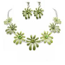 Honeydew Jewelry Wedding Prom Artistic Flower Round The Neck Jewelry - $19.88