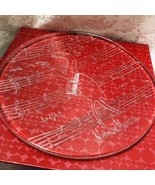 Neiman Marcus 2004 Christmas Cookie Plate Holiday Glass Platter in Box R... - $29.65