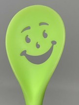"Kool-Aid Bright Green Kool Aid Man Stirring Mixing Spoon 12"" Long Oh Yea - $15.83"