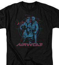 Airwolf Classic TV Series Retro 80's Jan-Michael Vincent graphic t-shirt NBC280 image 3
