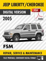 2005 JEEP LIBERTY / CHEROKEE KJ FACTORY REPAIR SERVICE MANUAL / WORKSHOP... - $9.90