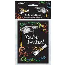 Chalkboard Graduation Invitations, 8ct  5 x 4 - $5.93