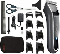 Wahl Lithium Ion Pro LED Rechargeable Grey, Stainless Steel - Shaver (Grey, - $283.13