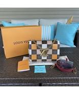 Louis Vuitton Monogram & Damier Twist MM - $3,099.00