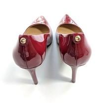 NWB-Michael Kors Dorothy Flex Patent Leather Pumps, Size 8.5M - Maroon - $78.21
