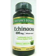 Nature's Bounty Herbal Health Echinacea Capsules, 400 mg, 100 Ct Exp. 5/24 - $11.87