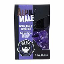 GIBS Grooming Alpha Male Beard Hair & Tattoo Oil, 1 fl. oz. image 4