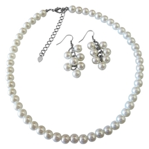Looking For White Pearl Jewelry Set Find At Fashion Jewelry For Everyo - $12.08