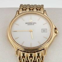 Raymond Weil Gold Plated Men's Quartz Watch w/ Date 5568 - $569.24