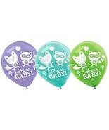 Woodland Welcome Animal Critter Cute Baby Shower Party Decoration Latex ... - $11.17
