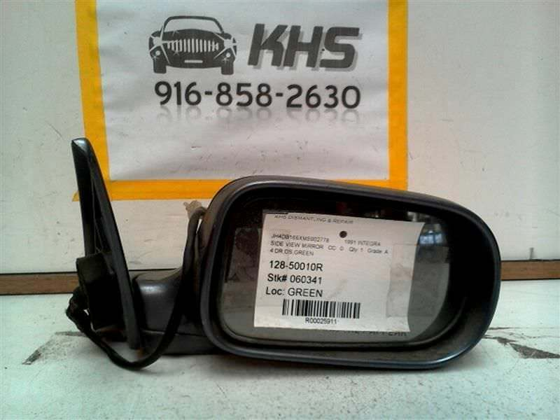 Primary image for Passenger Side View Mirror Power Sedan 4 Door Fits 90-93 INTEGRA 25911