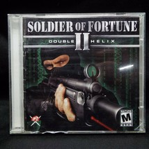 Soldier of Fortune 2 II Double Helix PC Game with Key Windows 98 XP CD-ROM - $9.99