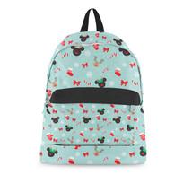 Christmas Mickey & Minnie Reindeers Disney Inspired Backpack - $73.82 CAD