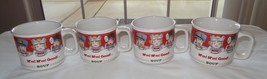 Lot of 4 Mm! Mm! Good! Campbells Soup Mug Cup 1997 by Westwood Advertisi... - $19.92