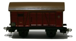 RARE Vintage 1950s MARKLIN HO Scale 381 Train Freight Boxcar Goods Wagen Red