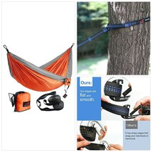 HONEST OUTFITTERS Double Camping Hammock with Hammock Tree Straps,Portab... - $49.15
