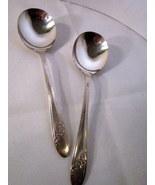 Tudor Plate Onieda 1946 Soup Spoon, Queen Bess II pattern Silverplate - $9.99