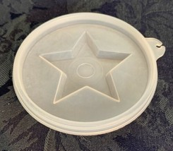 Tupperware Tupper Seal Round #632 Clear Sheer Star Jello Mold Seal Repla... - $2.96