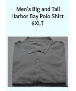 Polo Shirt Harbor Bay Men's Big and Tall 6XLT - $15.00