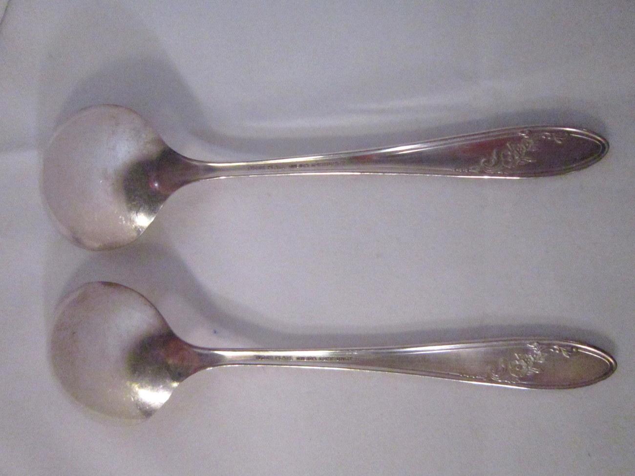 Tudor Plate Onieda 1946 Soup Spoon, Queen Bess II pattern Silverplate