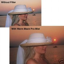 TIFFEN 55mm WARM BLACK PRO MIST #5 FILTER -- BRAND NEW - $34.99
