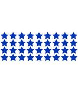 LiteMark Reflective Blue 1 Inch Stars Decals - Pack of 36 - $10.95