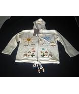 white hooded jacket, ecological Pima Cotton - $39.00