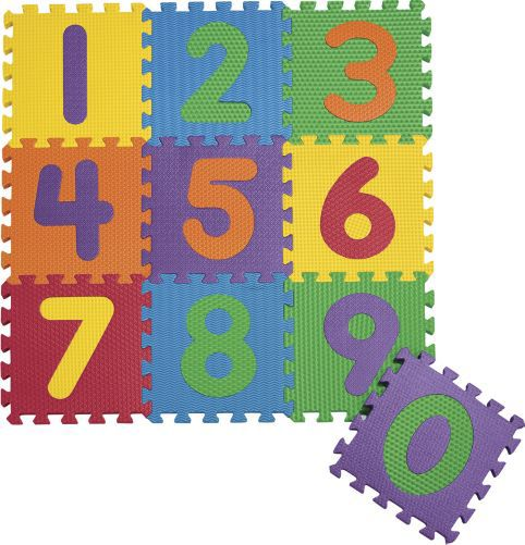 Numbers puzzle mat 3