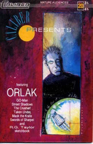Caliber Presents #20 Orlak [Comic] [Jan 01, 1991] Bill Widener