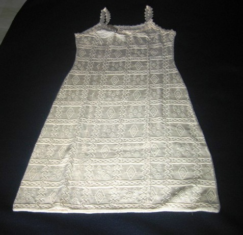 White dress, ecological Pima Cotton  - $68.00