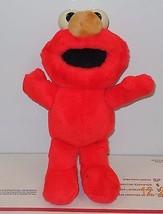 "Sesame Street 8"" Elmo plush toy RARE HTF Vintage 1992 Kid Dimension Hasbro - $9.50"