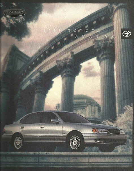 1999 toyota avalon platinum edition brochure and 50 similar items 1999 toyota avalon platinum edition