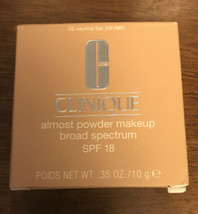 Clinique Almost Powder #02 Neutral Fair SPF18 NIB - $25.73