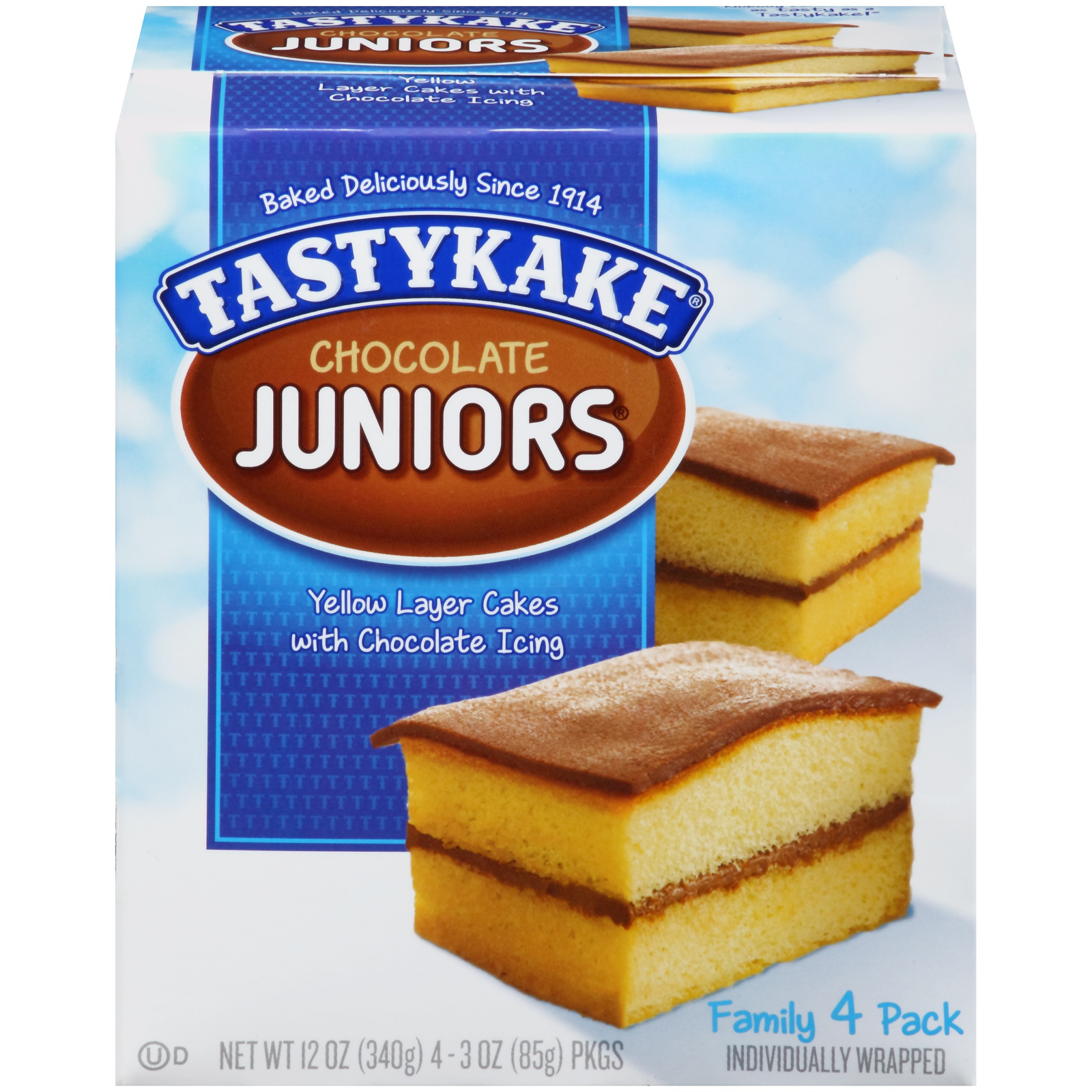 Primary image for Tastykake Chocolate Cake 3 Boxes Desserts Family 12 Pack Snacks Cupcake Treats