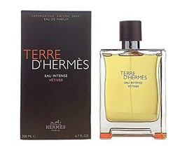 HERMES Terre DHermes Eau Intense Vetiver Men 6.7 oz EDP Spray (I0100587) - $181.64