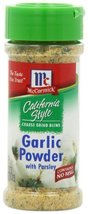 McCormick California Style Coarse Ground Blend Garlic Powder with Parsley, 3 Oun - $14.84