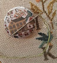 Summer Schoolhouse Needle Nanny Lesson#1 cross stitch With Thy Needle St... - $12.00