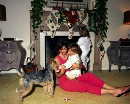 First Lady Jacqueline Kennedy with her children on Christmas Day New 8x1... - $6.16