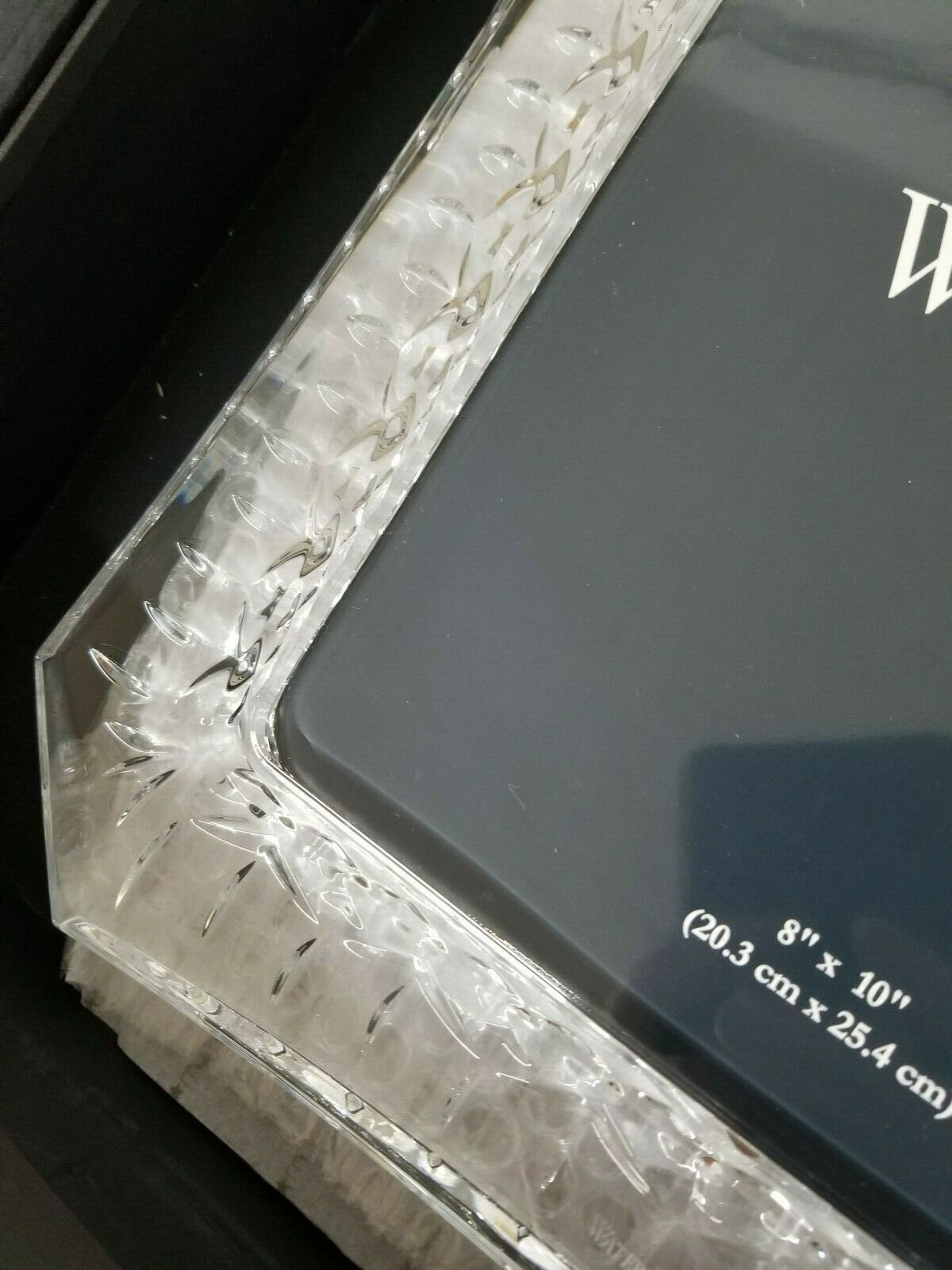Waterford Lismore Crystal Photo Picture Frame 8x10