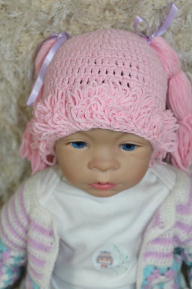 New Cabbage Patch Dolls Hat Knit Crochet and 10 similar items