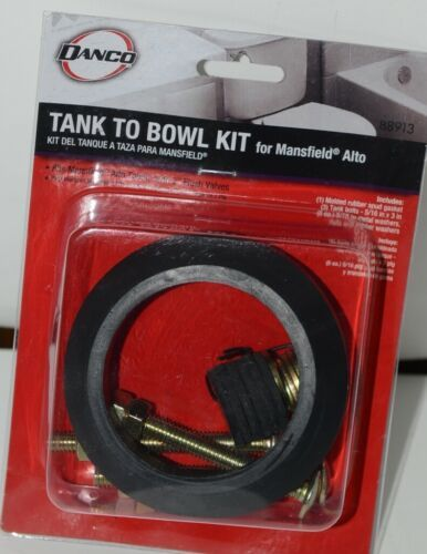 Danco 88913 Tank to Bowl Kit for Mansfield Alto Toilets Black Pkg 1